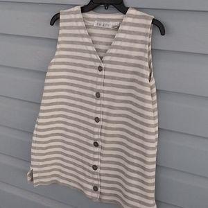 Chaus sport blouse size large